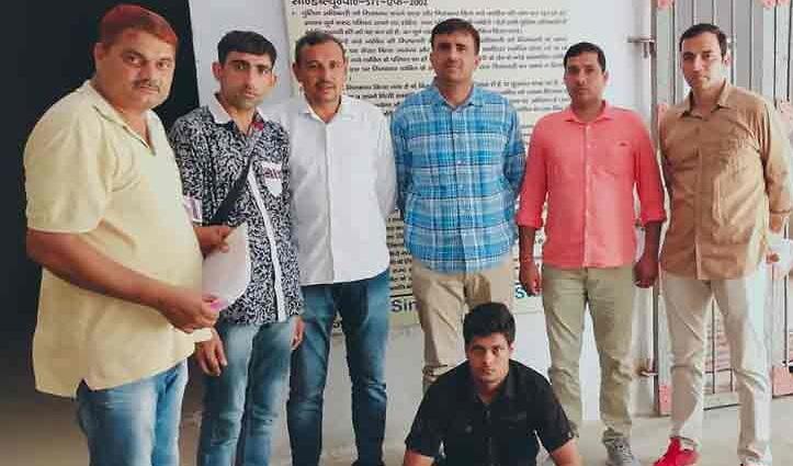 25 हजार का इनामी बदमाश 'मीता' हुआ Shimla से गिरफ्तार; हरियाणा में 18 महीने से घोषित था भगौड़ा