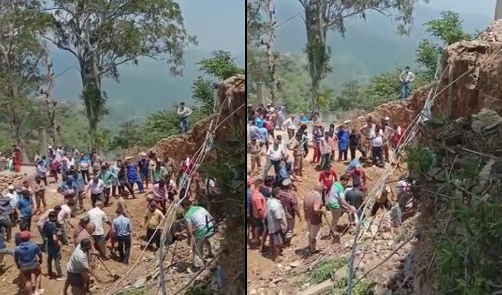 Big Breaking: हिमाचल में बड़ा हादसा, डंगे से गिरा मलबा- 2 की गई जान, तीन घायल