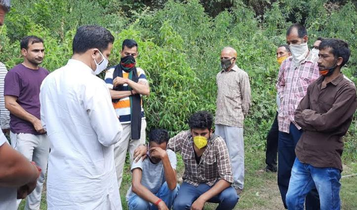 Sundernagar: घास काट रहा युवक पैर फिसलने से खड्ड में गिरा, डूबने से चली गई जान