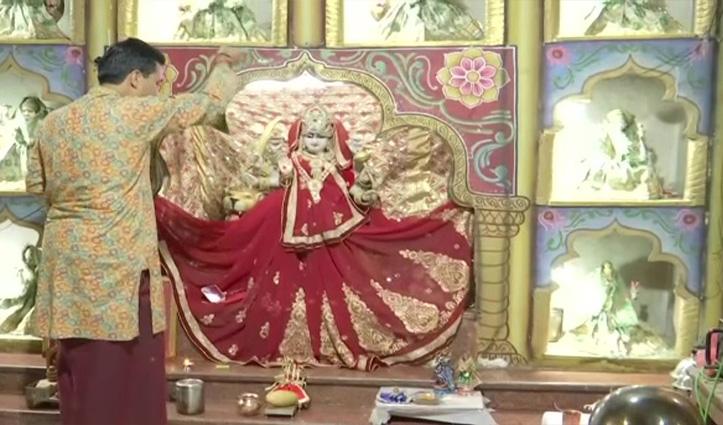 'मंदिर में शराब पीकर नहीं जाते तो Alcohol युक्त सैनेटाइजर लगाकर कैसे घुस सकते हैं'