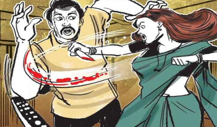 Una: सास पर किया चाकू से वार, फिर पति को नोंच खुद को किया इस तरह से घायल; तीनों भर्ती