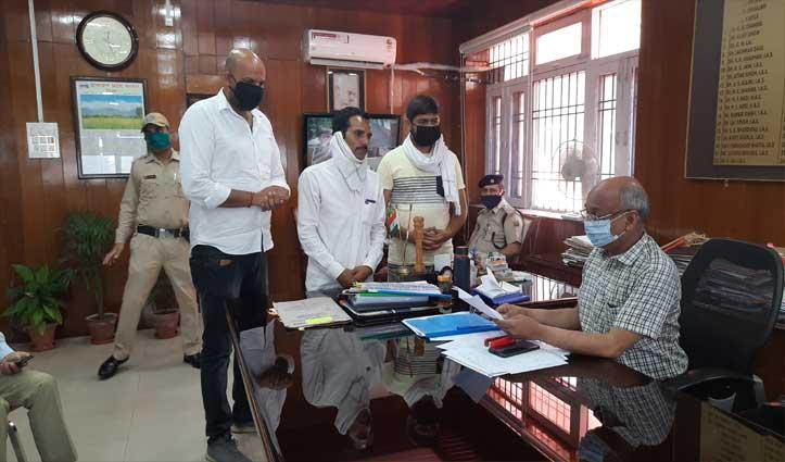 बिलासपुर में Youth Congress ने सौंपा ज्ञापन, जयराम से मांगा इस्तीफा