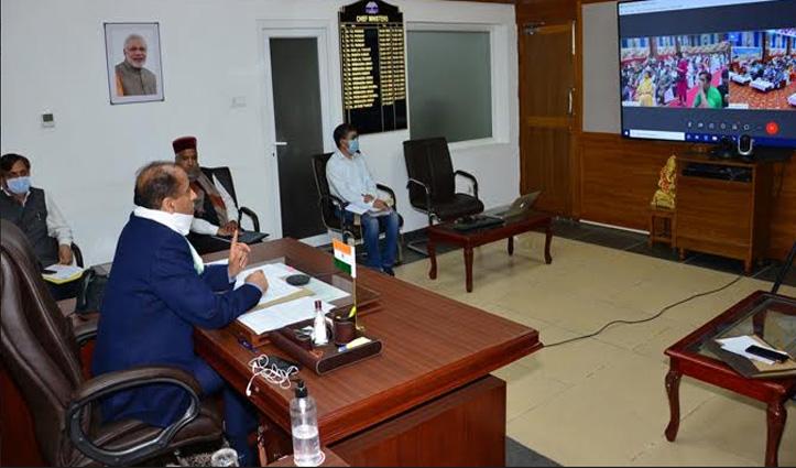 जयराम ने Rampur को दी 11 करोड़ रुपये की सौगातें, विकासात्मक परियोजनाओं का किया लोकार्पण