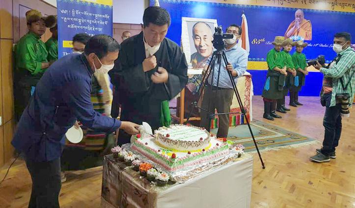 Dalai Lama : Celebrate my birthday by reciting mantra of Avalokiteshvara atleast 1000 times