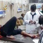 पुलिस और बैंक लुटेरों में Encounter : दो बदमाशों को लगी गोली, 3 Lakh Cash, दो पिस्तौल बरामद