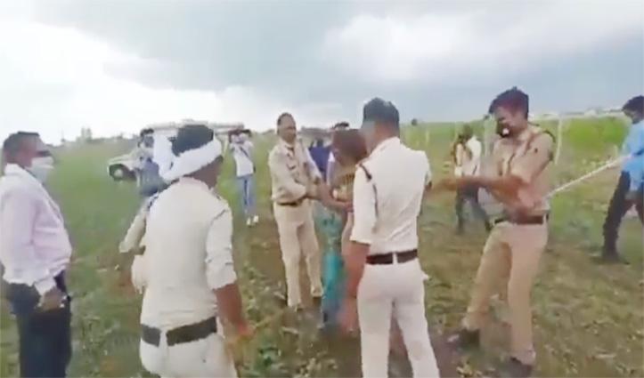 MP किसान दंपति मारपीट मामला : गुना के Collector और SP हटाए, कमलनाथ ने सरकार को घेरा