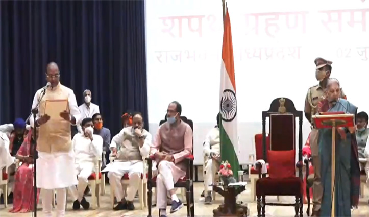 MP में Shivraj Cabinet का हुआ विस्तार : 28 मंत्रियों ने ली शपथ, सिंधिया का दबदबा