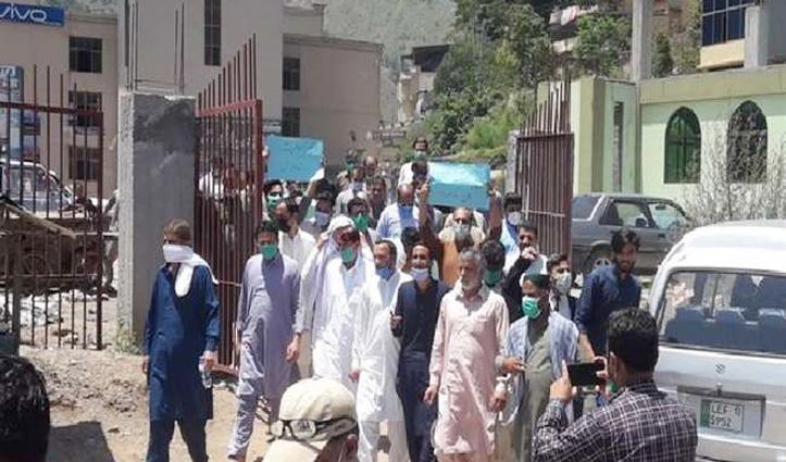 China और Pakistan के खिलाफ PoK में फूटा गुस्सा, लोगों ने किया विरोध प्रदर्शन