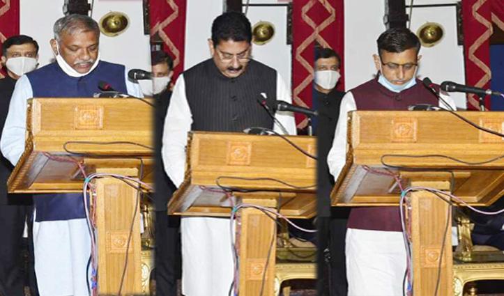 First Hand : जयराम कैबिनेट का विस्तार, सुखराम चौधरी-राकेश पठानिया व राजेंद्र गर्ग को मिली झंडी