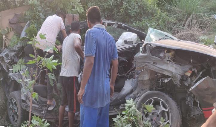 Road Accident : टिप्पर से टकराई कार, Himachal के युवक की पंजाब में गई जान