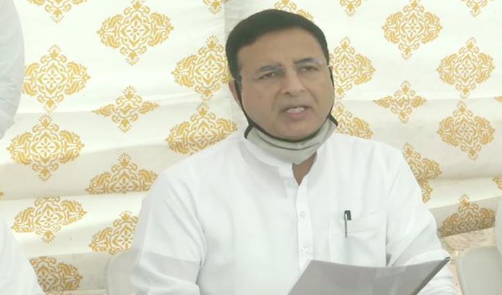 बागी विधायक भंवरलाल-विश्वेंद्र पार्टी से Suspend, सुरजेवाला बोले – BJP से मिलकर सरकार गिराने की कोशिश