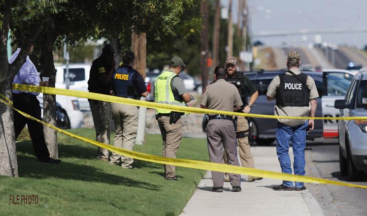 America के टेक्सास में हुई गोलीबारी : दो Police Officer की मौत, संदिग्ध घायल