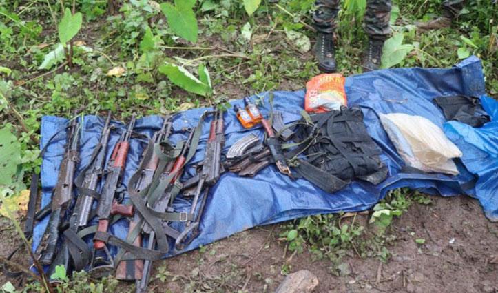 अरुणाचल में Army का बड़ा ऑपरेशन, छह आतंकी मार गिराए, Chinese हथियार हुए बरामद