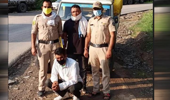 बिलासपुर में अढ़ाई किलो Charas पकड़ी, पांवटा में कच्ची शराब बरामद; महिला सहित तीन Arrest