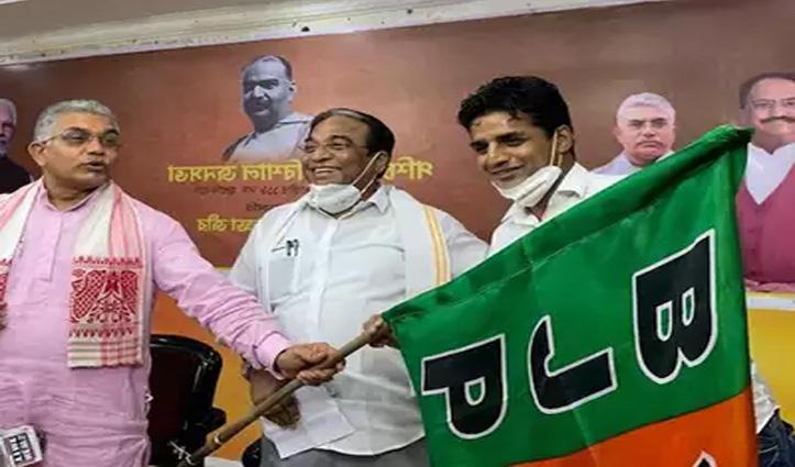 BJP में शामिल होने के 24 घंटे के भीतर ही पूर्व भारतीय फुटबॉलर ने छोड़ी राजनीति