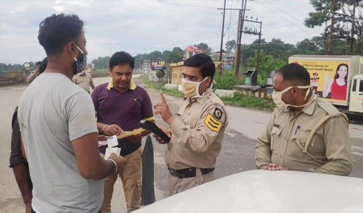 Sundernagar : बेलगाम वाहन चालकों पर पुलिस का शिकंजा, काटे हजारों के Challan
