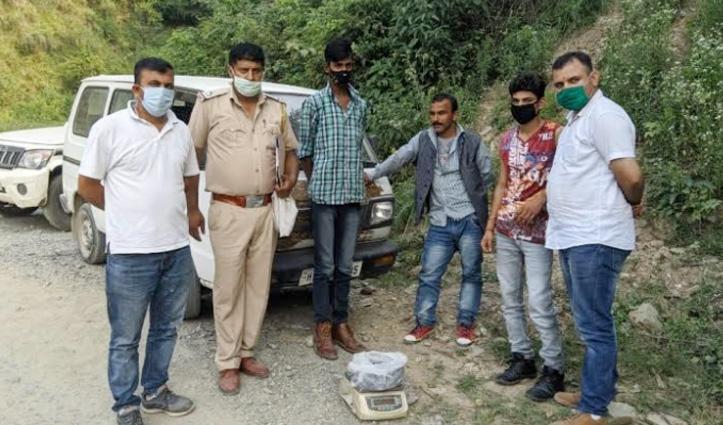 राजगढ़ में पकड़ी 1.231 किलोग्राम Charas, कच्ची शराब, Una में मिला चिट्टा, छह गिरफ्तार