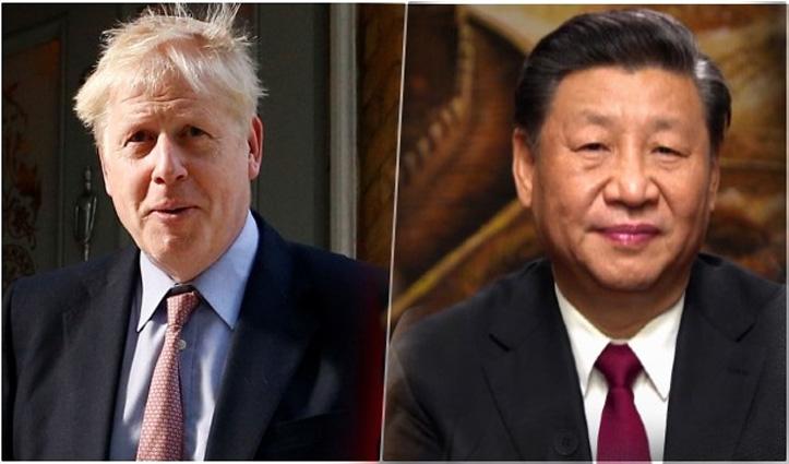 चीन के पीछे पड़ा ब्रिटेन: Asia में भेज रहा एयरक्राफ्ट कैरियर; Huawei को किया बैन