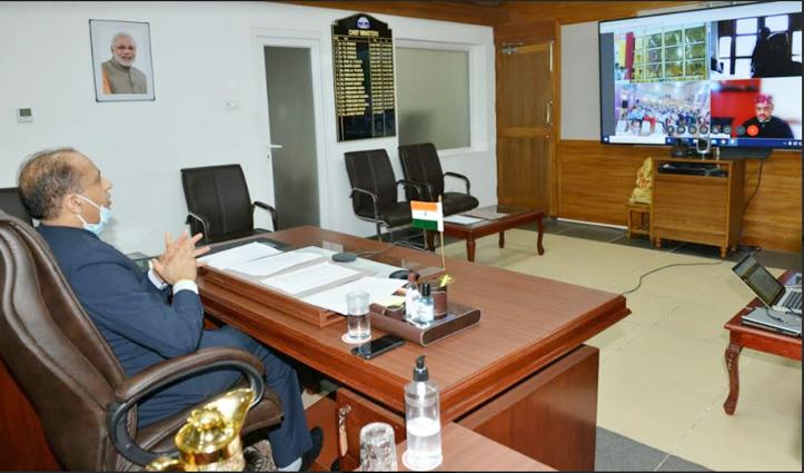 CM Jai Ram ने नाहन विधानसभा क्षेत्र को दी सौगात, 142 करोड़ के Online उद्घाटन-शिलान्यास किए