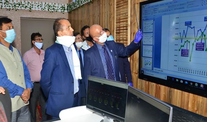 जयराम ने SLDC के वर्चुअल प्लेटफार्म का किया आगाज, पावर ग्रिड को करेगा नियंत्रित