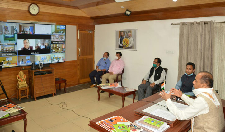 मुख्यमंत्री ग्राम कौशल योजना के लाभार्थियों से सीधा संवाद