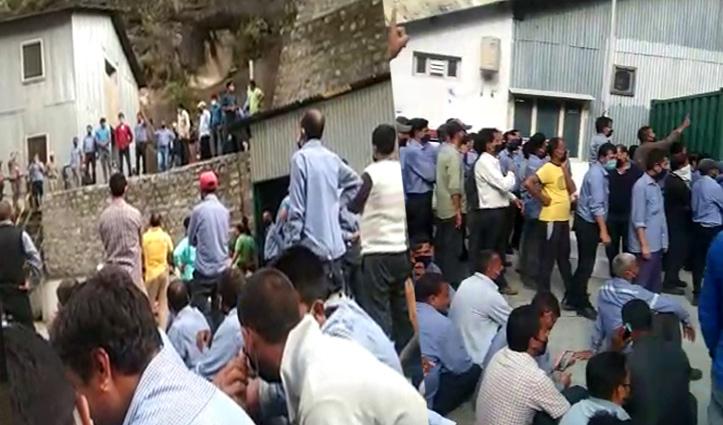 कड़छम प्रोजेक्ट कर्मचारी आत्महत्या मामला, Police पर पथराव- पांच पुलिस कर्मी घायल