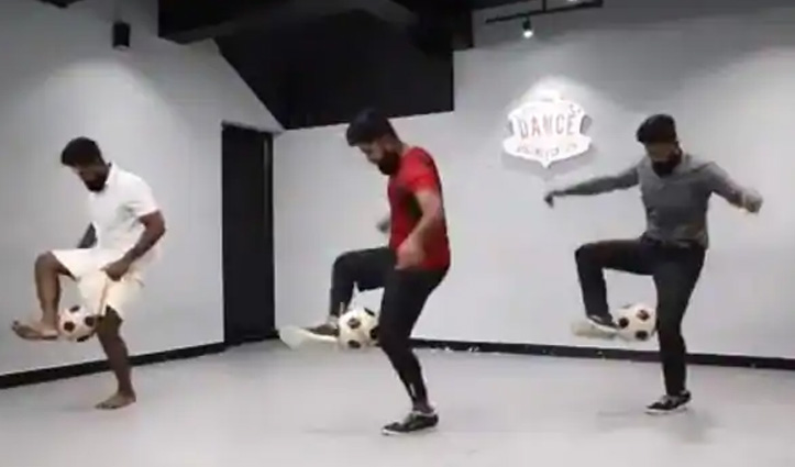 पहले नहीं देखा होगा ऐसा जबरदस्त 'Football Dance', रवीना टंडन ने शेयर किया Video
