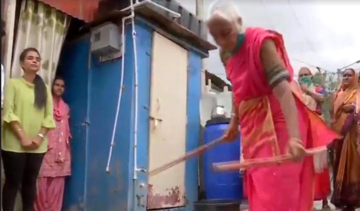 Video : 85 साल की दादी मां करतीं हैं ऐसे करतब, देखकर हो जाएंगे हैरान
