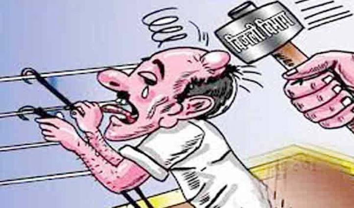 Sarkaghat: धर्मपुर में बिजली की चोरी करते पकड़ा तो कर्मचारी की कर दी पिटाई