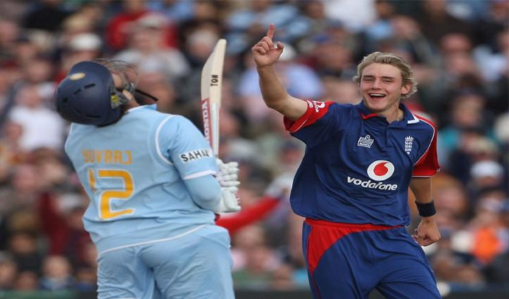 जिसकी गेंद पर युवराज ने जड़े थे 6 छक्के; वहीं बना 500 Test Wicket लेने वाला दुनिया का 7वां गेंदबाज