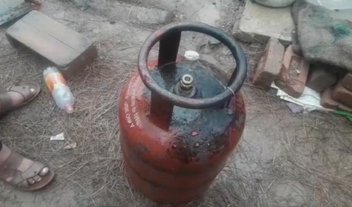 बिलासपुरः Kitchen में रखे सिलेंडर में भड़की आग, बुझाते वक्त झुलसे दो युवक