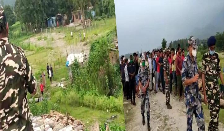 नेपाली नागरिकों की भीड़ ने की विवादित क्षेत्र में कब्जे की कोशिश; SSB ने रोका तो बढ़ा तनाव