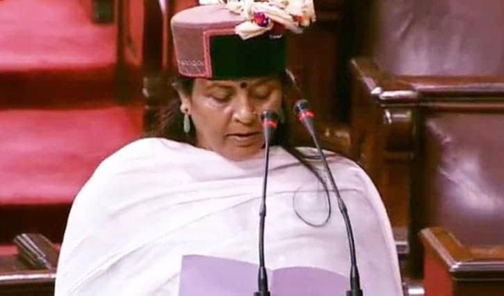 ज्योतिरादित्य सिंधिया, हिमाचल से Indu Goswami सहित 61 ने ली राज्यसभा की शपथ