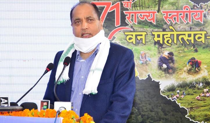 Jai Ram बोले- प्रदेश में चीड़ की पत्तियों पर आधारित नए उद्योग होंगे स्थापित