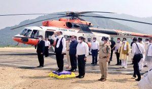 मंडी पहुंचे CM Jai Ram, दोपहर बाद जाएंगे Manali