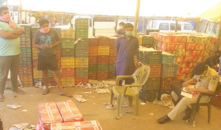 Kullu: बिना परमिशन बंदरोल सब्जी मंडी पहुंचा पंजाब का व्यापारी, मचा हड़कंप