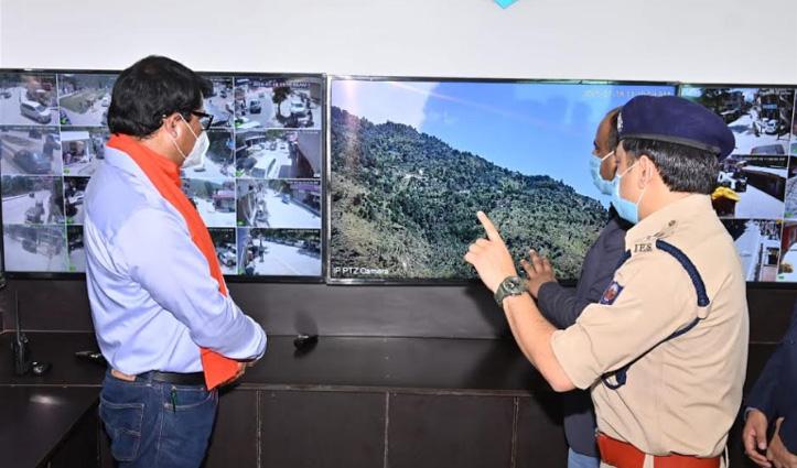 Himachal के इस जिला में आधुनिक Police कंट्रोल रूम स्थापित, गोविंद ठाकुर भी पहुंचे जानकारी लेने