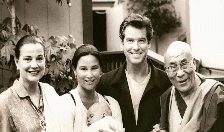 James Bond रहे पियर्स ब्रॉसनन ने Dalai Lama के साथ तस्वीर की शेयर, जन्मदिन की दी शुभकामनाएं
