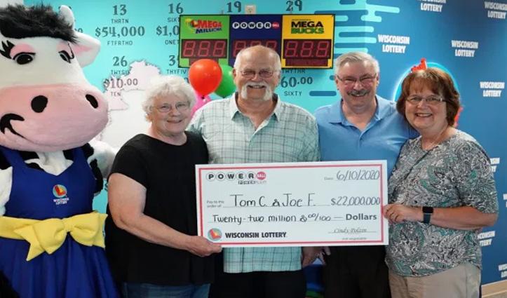 1992 में किए वादे के लिए अमेरिकी शख्स ने दोस्त के साथ बांटी 164 करोड़ की Lottery
