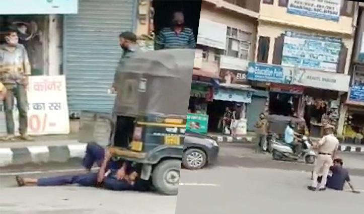 Police जांच में महज ड्रामा निकला Mandi में ऑटो चालक ने आत्मदाह का प्रयास
