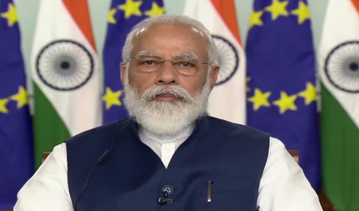 भारत-ईयू सम्मेलन में बोले PM मोदी- हमारी Partnership विश्व में शांति और स्थिरता के लिए उपयोगी
