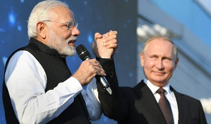 PM मोदी ने पुतिन से फोन पर बात कर दी बधाई; रूस के साथ डील कर वायुसेना को ताकतवर बनाएगा India
