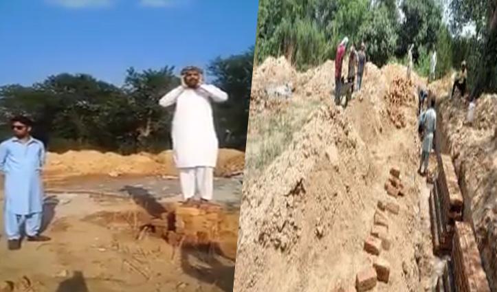 शर्मनाक: Pakistan में कृष्ण मंदिर के निर्माण में खलल; नींव की दीवार तोड़ी, उसी जमीन पर दी अजान