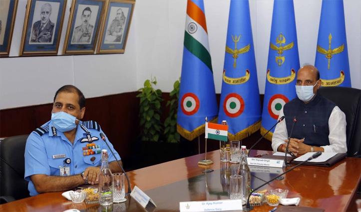 वायुसेना कमांडर्स को रक्षामंत्री ने किया आगाह: किसी भी स्थिति से मुकाबले के लिए तैयार रहे Air force