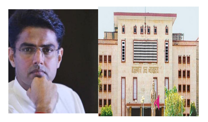 राजस्थान स्पीकर के नोटिस के खिलाफ 18 विधायकों संग HC पहुंचे Pilot; 3 बजे होगी सुनवाई