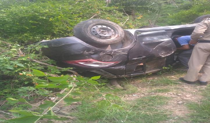 सोलनः Seat Belt ने बचाई पति-पत्नी सहित दो बच्चों की जान, कुछ इस तरह रहा मामला