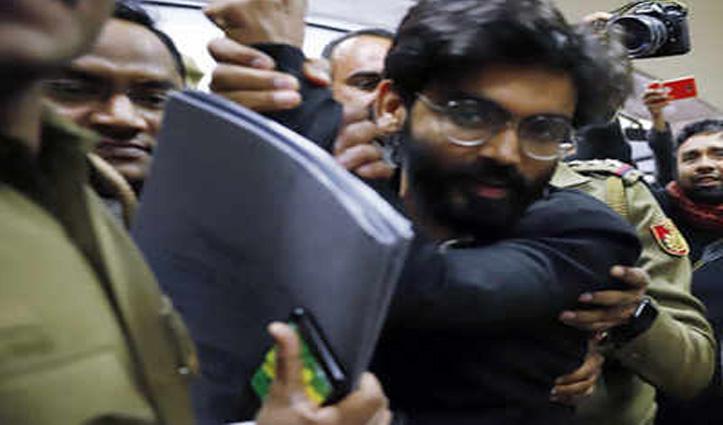 दिल्ली दंगा भड़काने और देशद्रोह के आरोपित शरजील इमाम को हुआ Corona, असम से लाने गई पुलिस लौटी