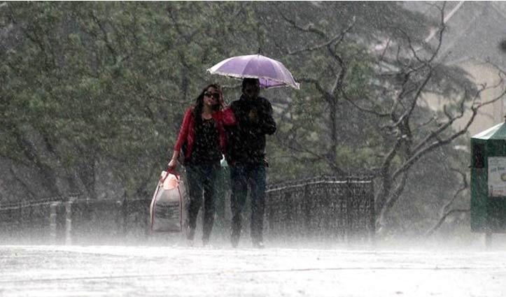 Shimla में झमाझम बरसे मेघ, अगले तीन दिन भारी बारिश और अंधड़ की चेतावनी जारी