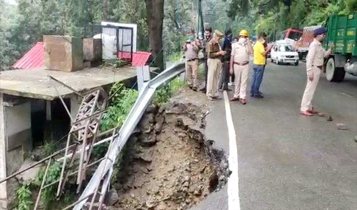 बड़ी खबरः Shimla में धंसा रेन शेल्टर, एक की गई जान- एक घायल, एक समय रहते भागा