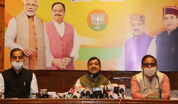 BJP विधायक दल की बैठक से पांच MLA का किनारा, Suresh Kashyap बोले कोई नाराजगी नहीं